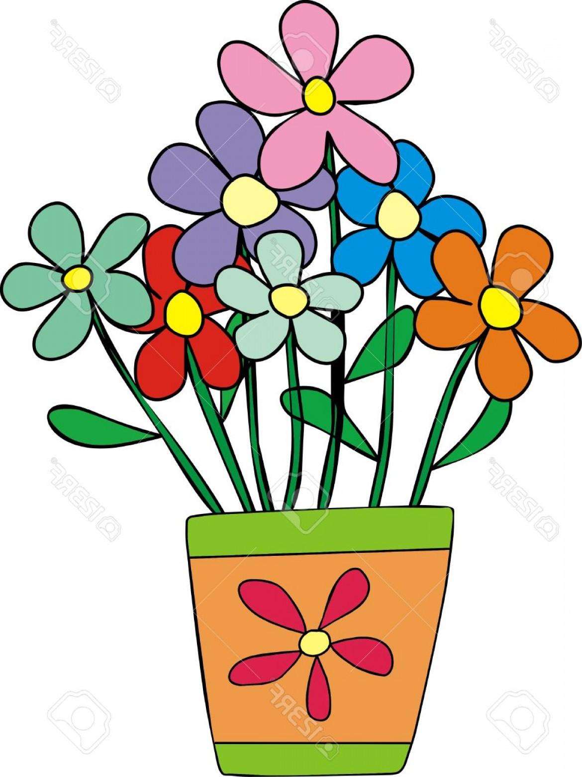Flower Pot Clipart & Free Flower Pot Clipart.png Transparent.