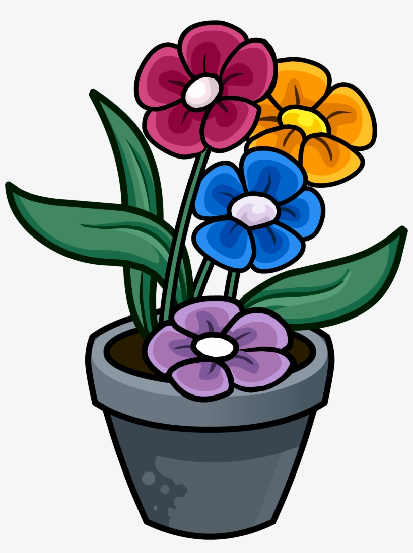 Flowerpots Clipart Plant Pot.
