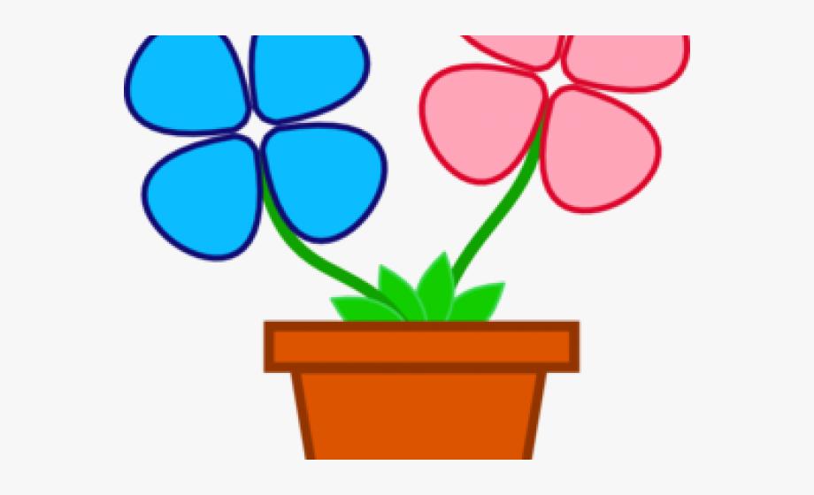 Clipart Of Flower Pot.