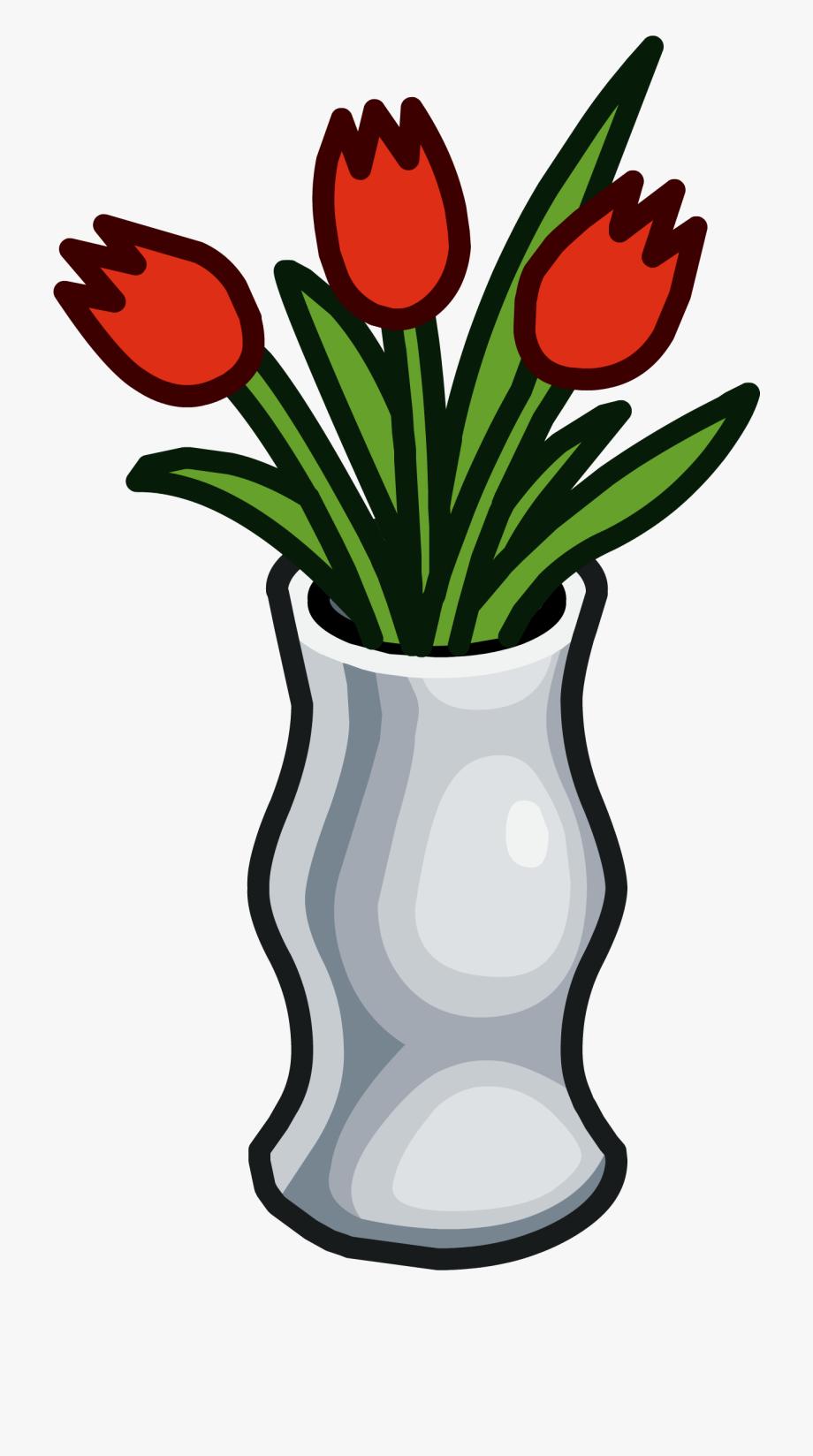 Vase Clipart Spring Flower.