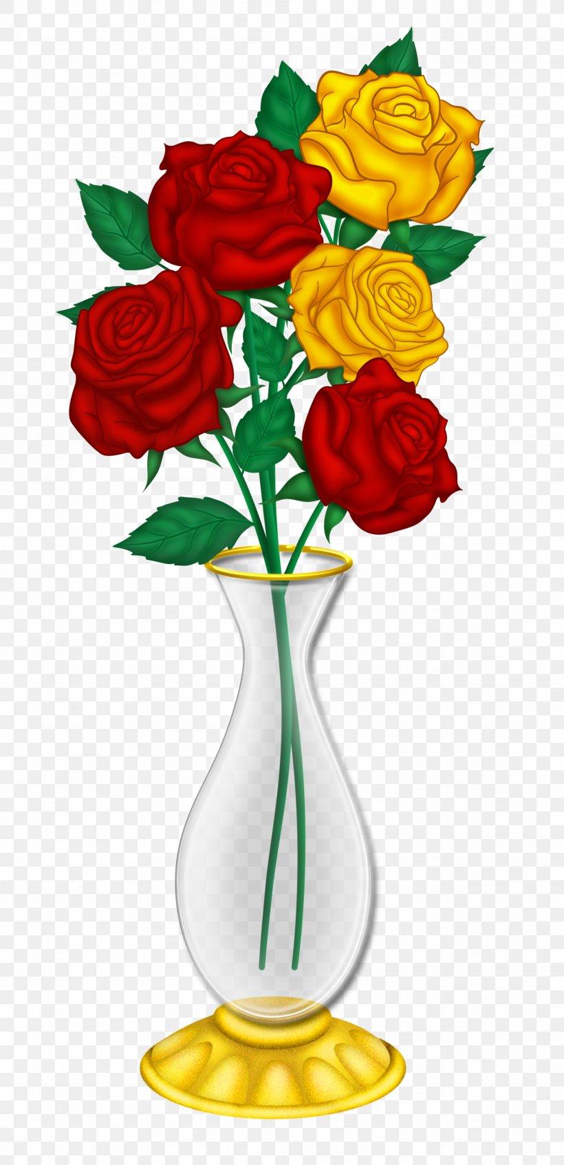 Vase Flower Rose Clip Art, PNG, 1912x3952px, Vase, Art.