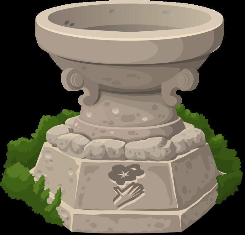 Flowerpot,Artifact,Fountain PNG Clipart.