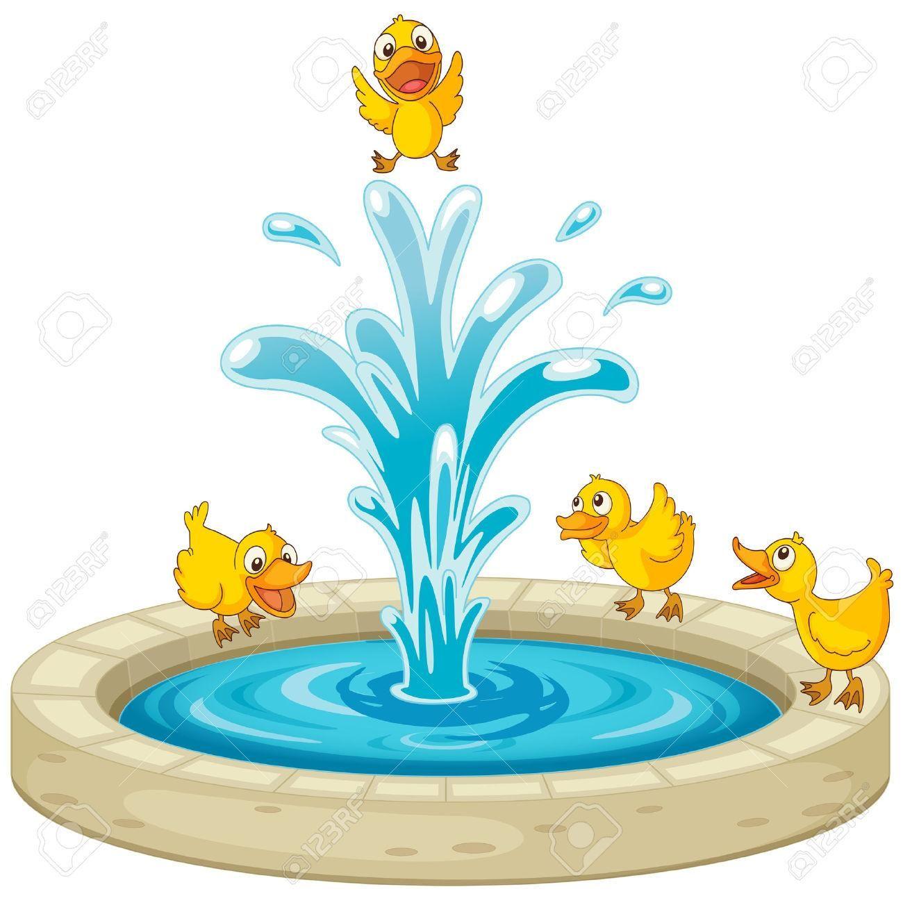 Water Fountain Clip Art.