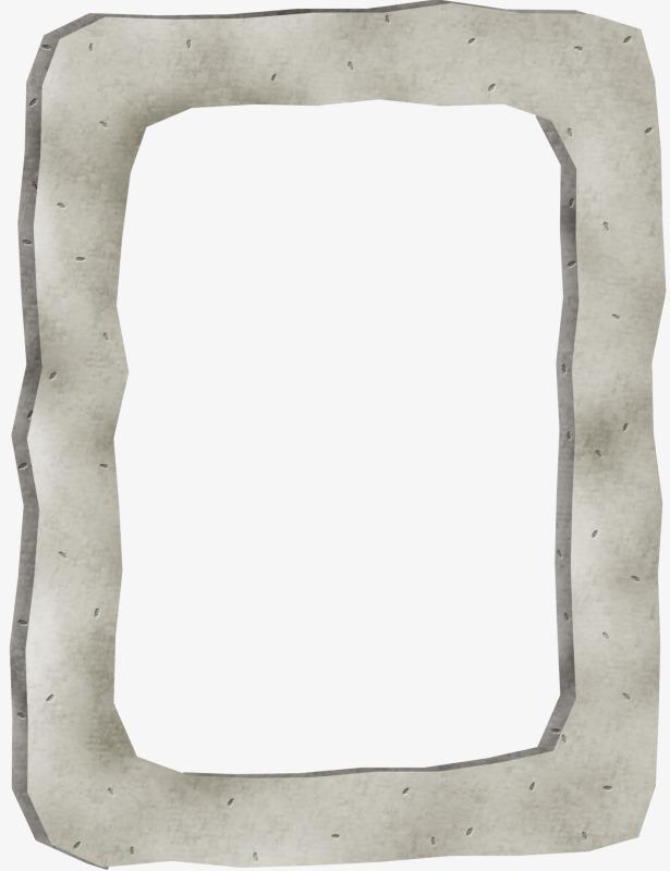 Gray Frame Clipart.