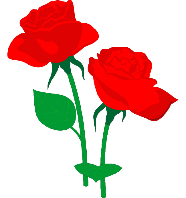 Free rose clipart public domain flower clip art images and 2.