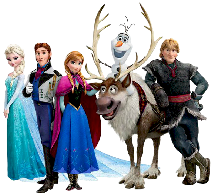 Disney Frozen Christmas Clipart.