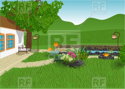 Home Garden Clipart.