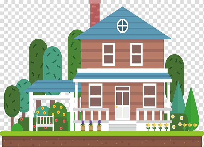 Mortgage loan House Bank Finance, Garden house material.