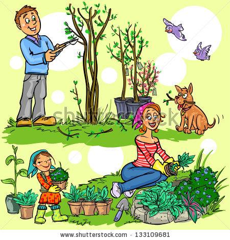 A garden plant clipart #7