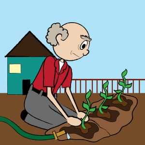 Gardening Clipart Image.