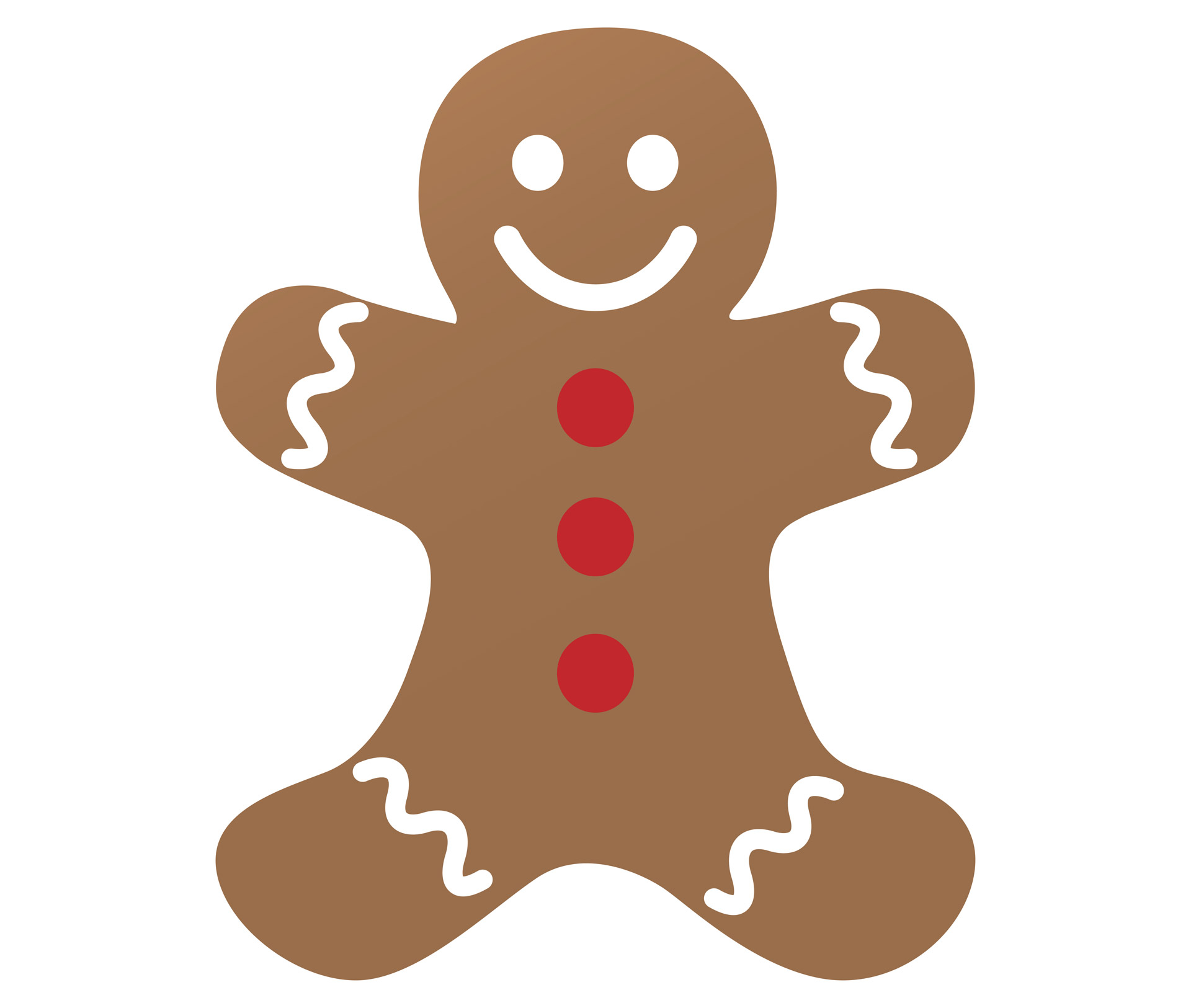 Free Gingerbread Man Clipart.