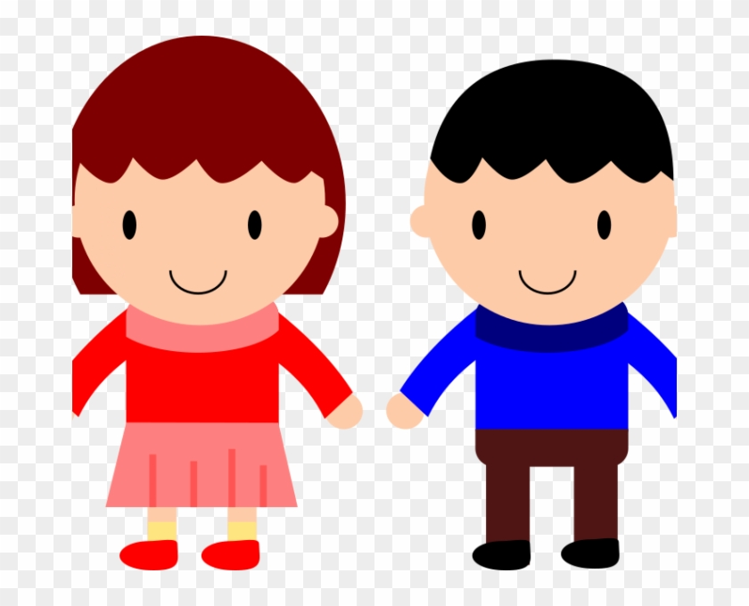 Boy And Girl Looking L Clipart & Clip Art Images.