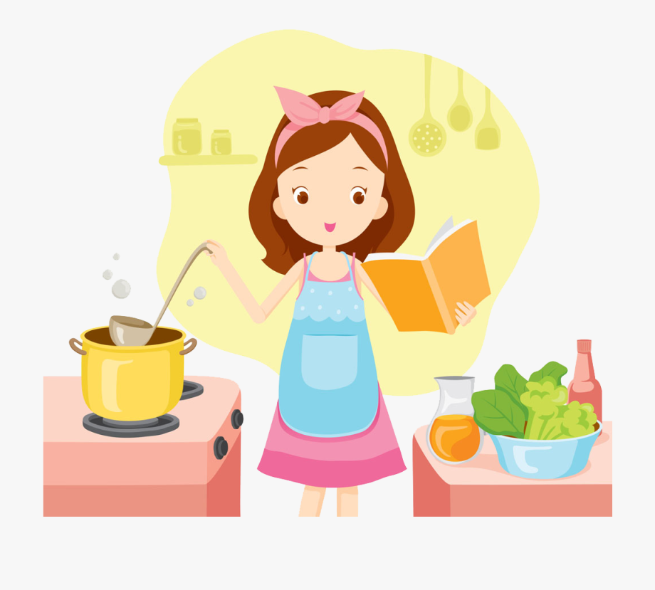 Bake Clipart Woman.