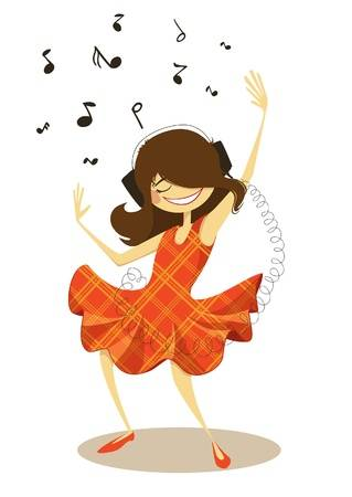 Girl dancing clipart 5 » Clipart Station.