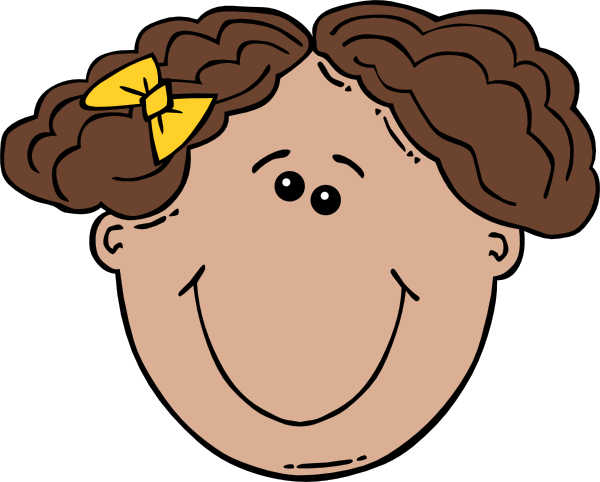 Free Girl Cartoon Faces, Download Free Clip Art, Free Clip.
