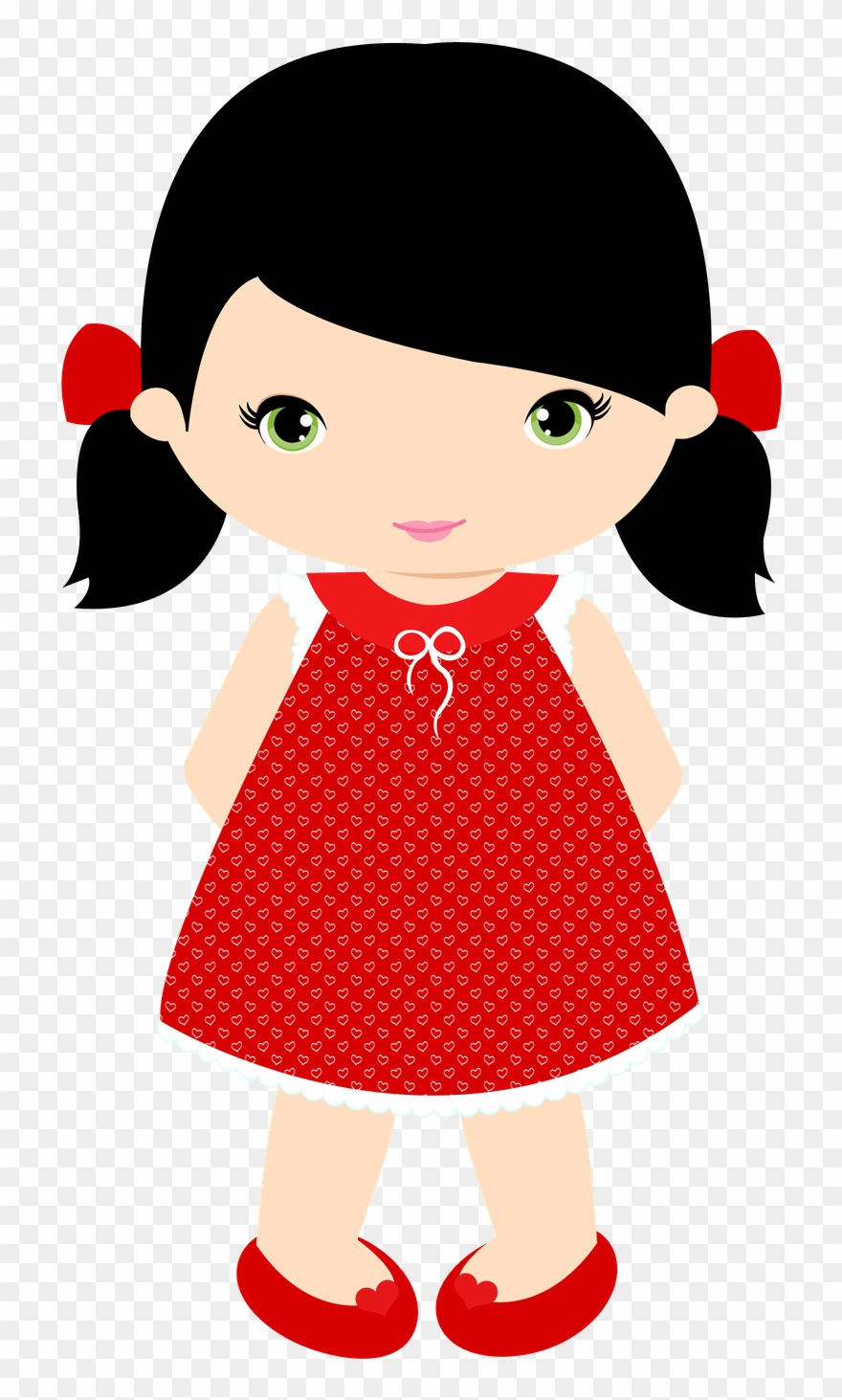 Little Girl Clip Art.
