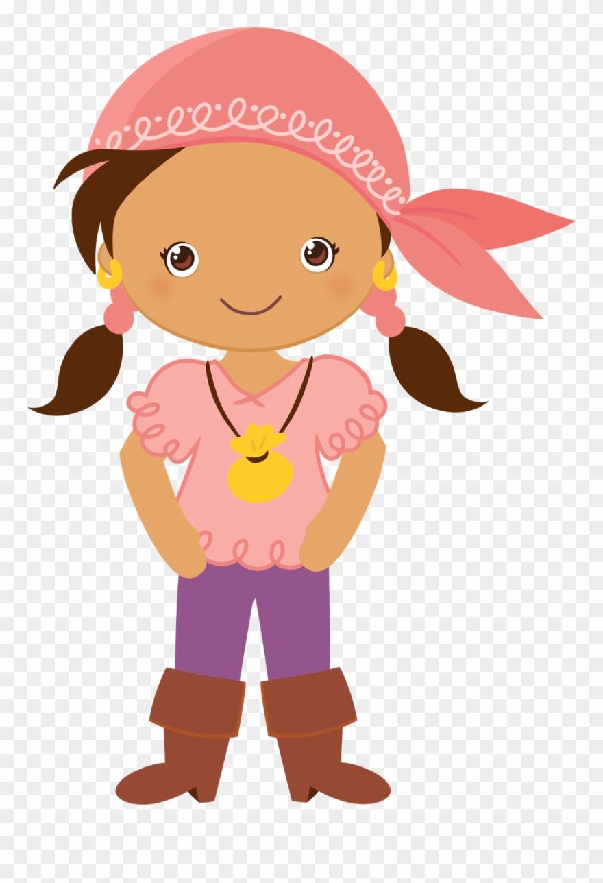 Pirata Girl Clipart, Disney Clipart, Pirate Theme,.