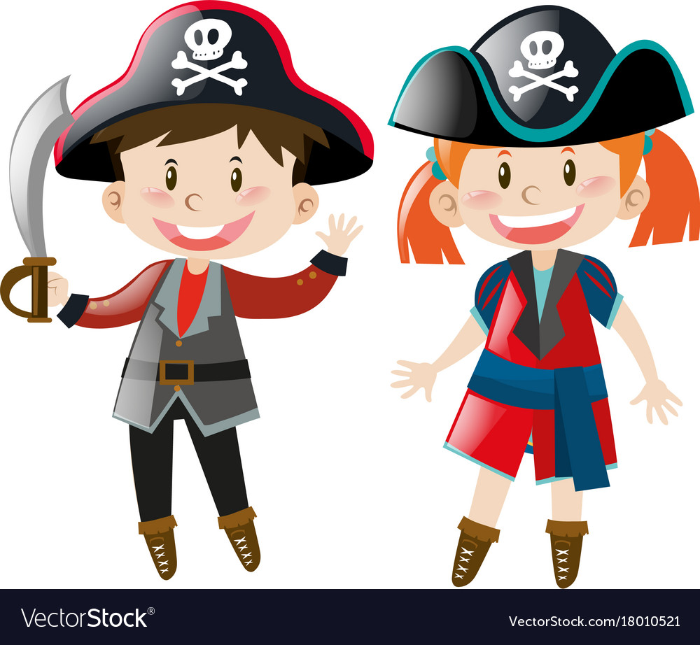 Png Boy And Girl Pirate High Resolution & Free Boy And Girl.