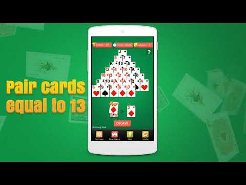 Pyramid solitaire card games free.