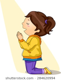 Girl praying clipart 5 » Clipart Station.
