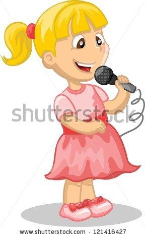 Girl Singing Stock Vectors, Images & Vector Art.