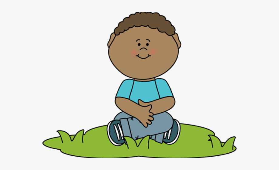 Alone Clipart Girl Sit.