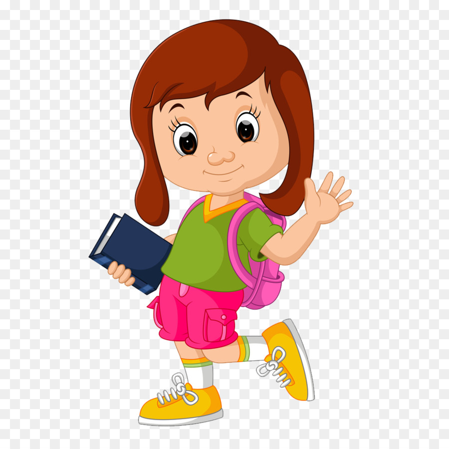 Girl student clipart 3 » Clipart Station.