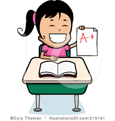 Girl studying clipart 8 » Clipart Station.