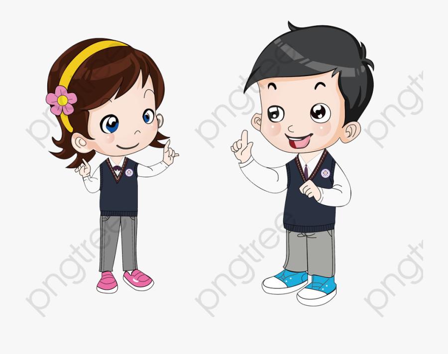 Talking Kids, Kids Clipart, Lovely, Student Png Transparent.