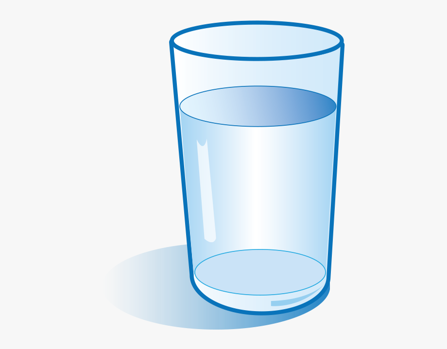Graphic Library Water Glass Clipart.
