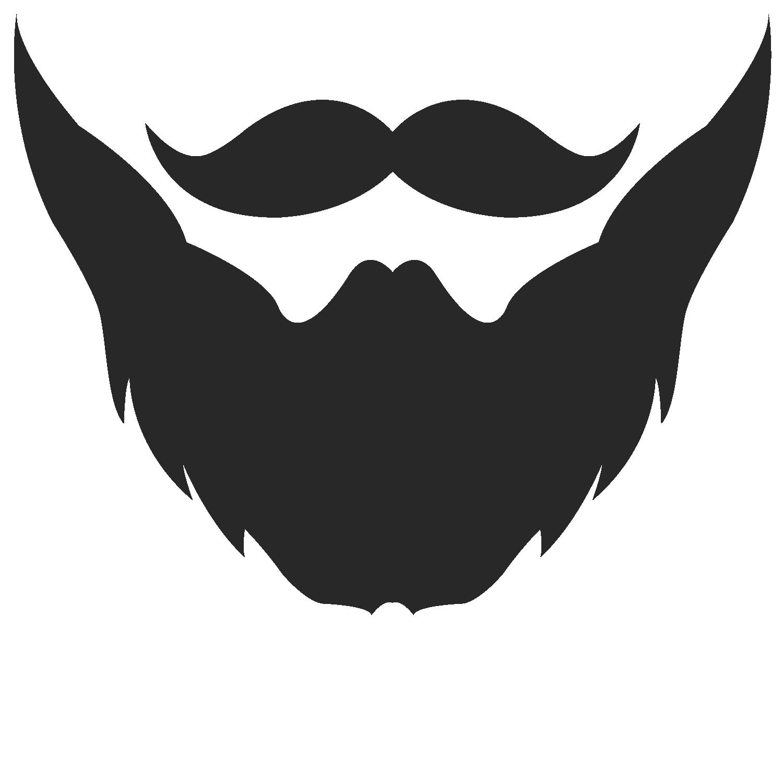 Santa beard clipart.