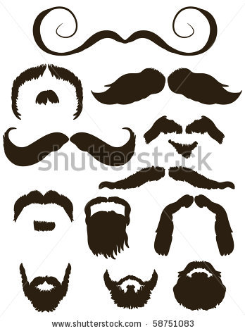 A goatee clipart #10