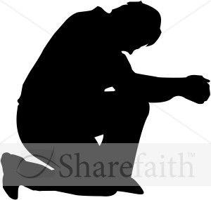 Humble Man in Prayer.