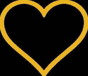 Gold Heart Clip Art at Clker.com.