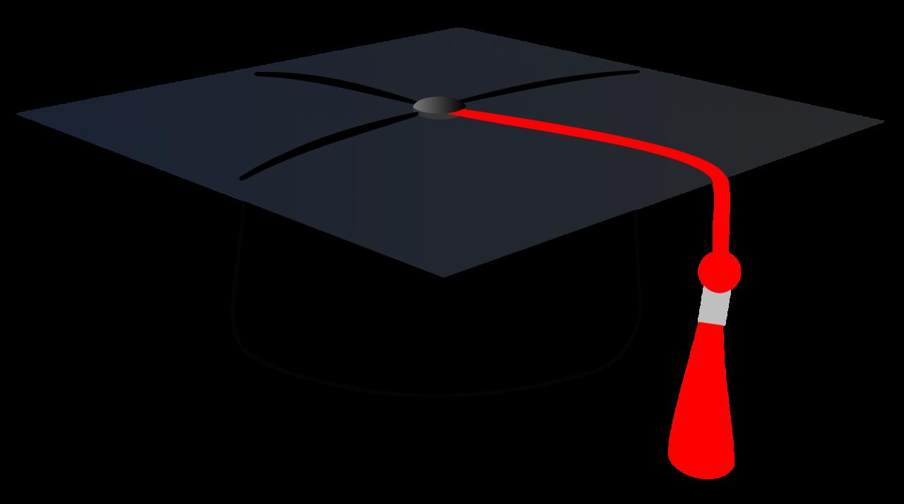 Graduation Cap Clipart PNG Image.
