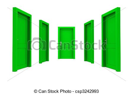 Choose a green door Clipart and Stock Illustrations. 17 Choose a.