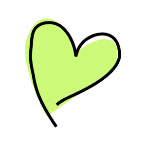 Green heart clipart 1 » Clipart Station.