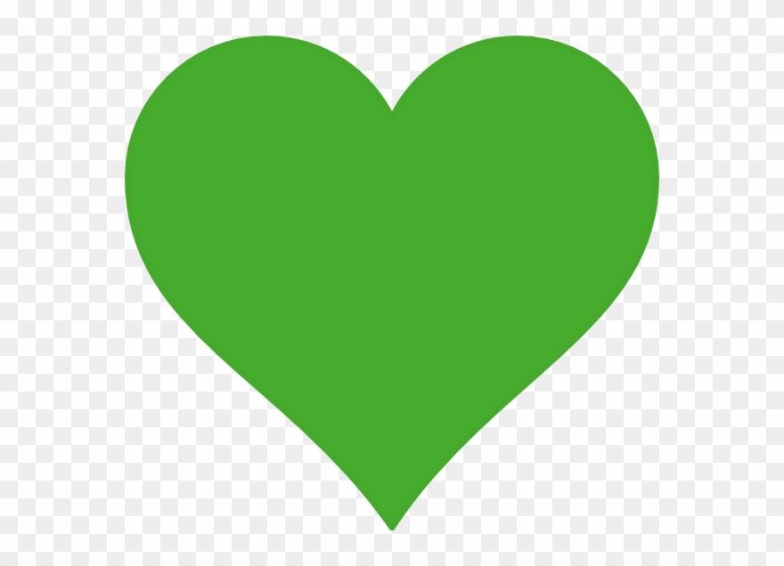 Lime Heart Clip Art At Clker.