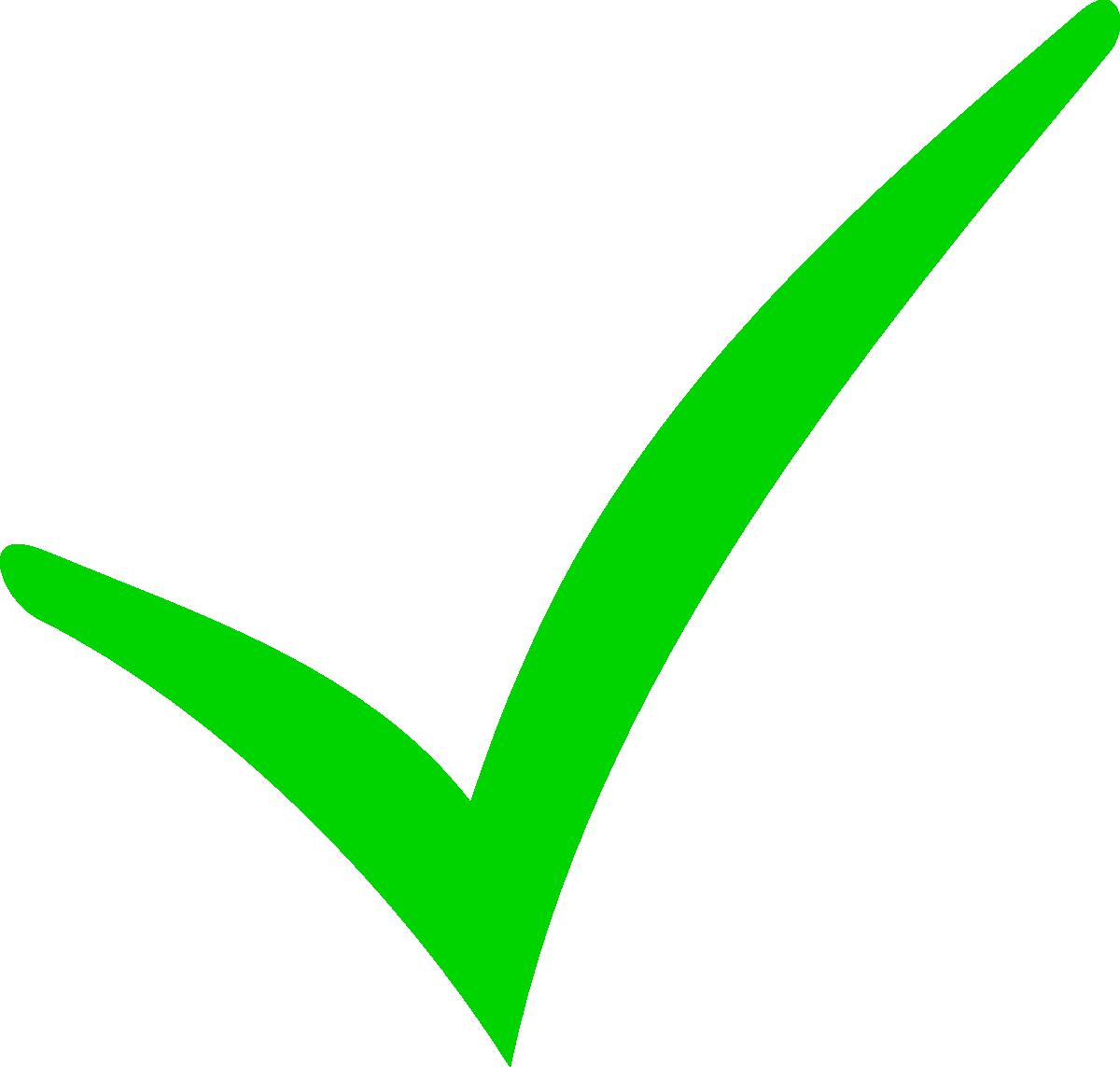 Free Green Tick Mark, Download Free Clip Art, Free Clip Art.