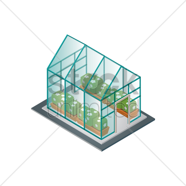 daylighting clipart Glass Greenhouse clipart.