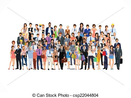 Large group of people Illustrations and Clip Art. 11,867 Large group.