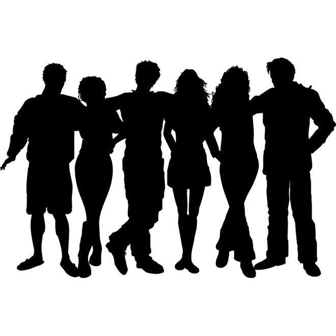A group of people clipart 2 » Clipart Portal.