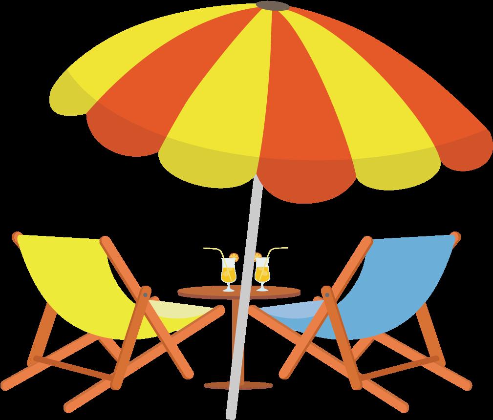 HD Sighting Drawing Beach Chair.