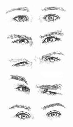 JohnnyBro's How To Draw Manga: Drawing Manga Eyes (Part II) Again.
