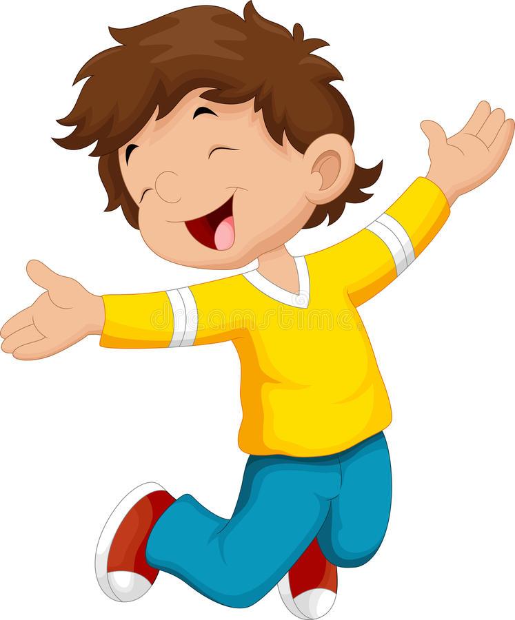 Boy Happy Clipart.