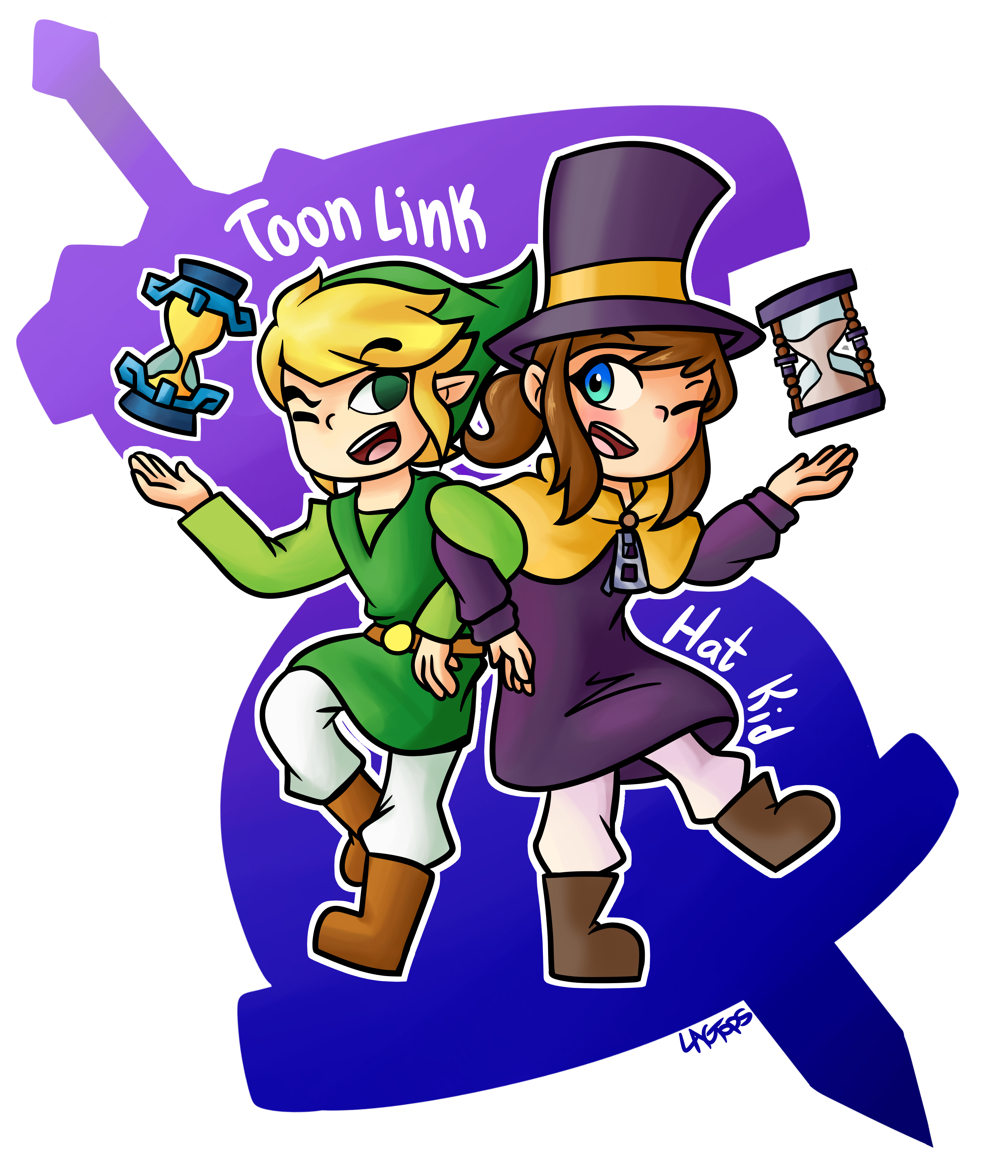The Legend of a Hat in Time : AHatInTime.