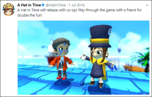 Does A Hat In Time have co.