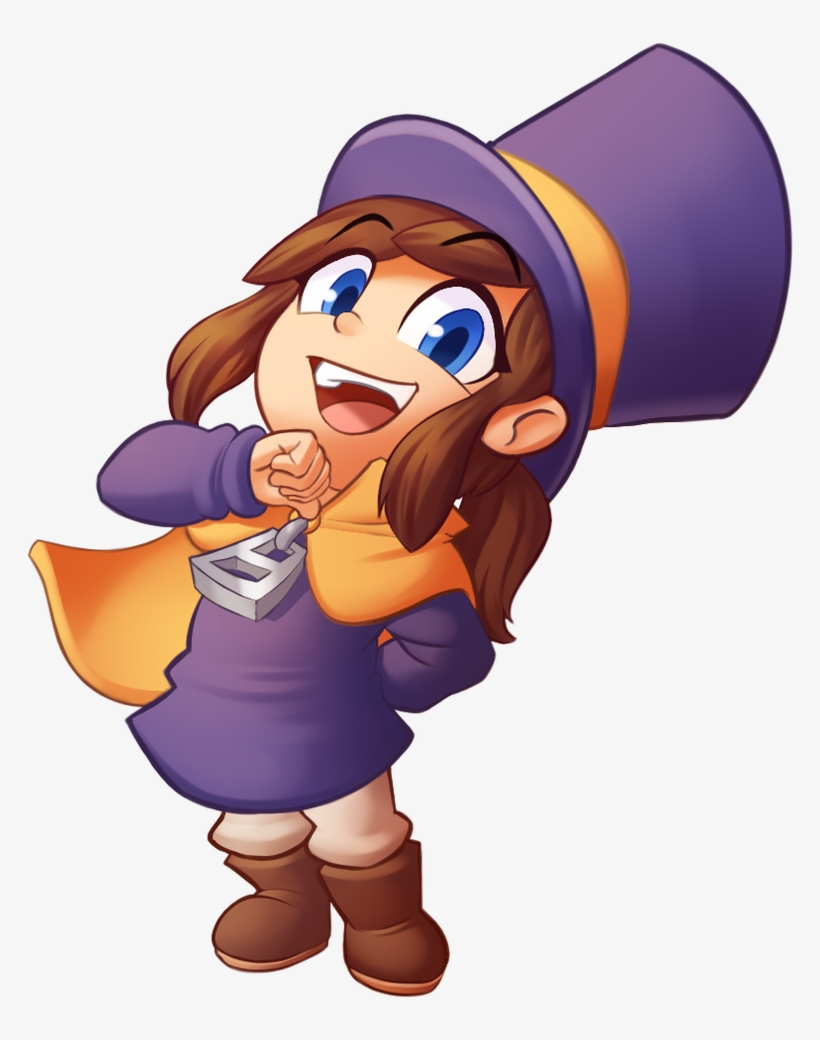 A Hat In Time Twitter Transparent Background.