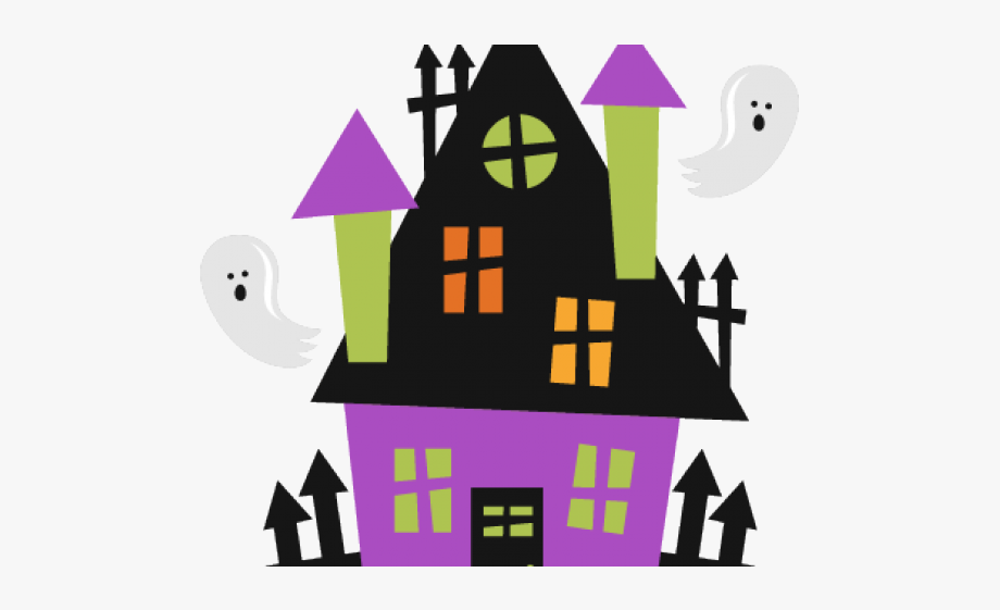 Haunted House Clipart Haunted School.