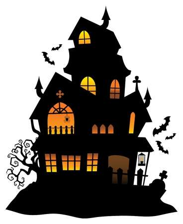 Haunted House Clipart & Free Haunted House Clipart.png.